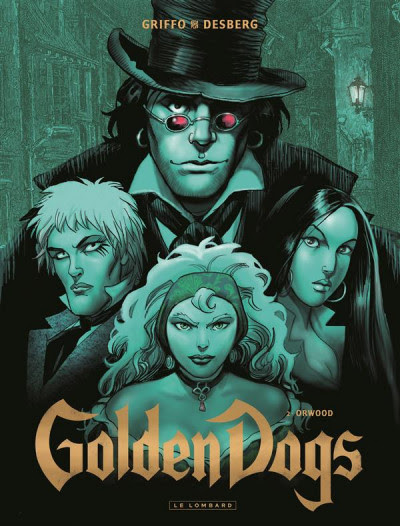 Couverture Golden dogs tome 2