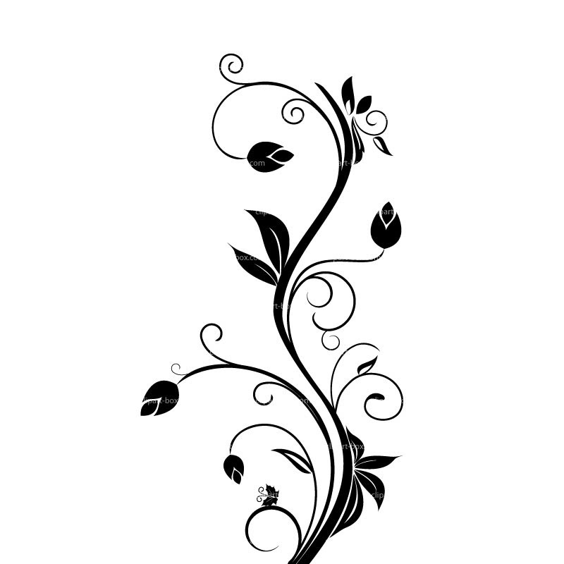 Flower Borders Black And White Free Download Best Flower Borders