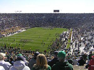 2007 Navy vs. Notre Dame football game - prega...