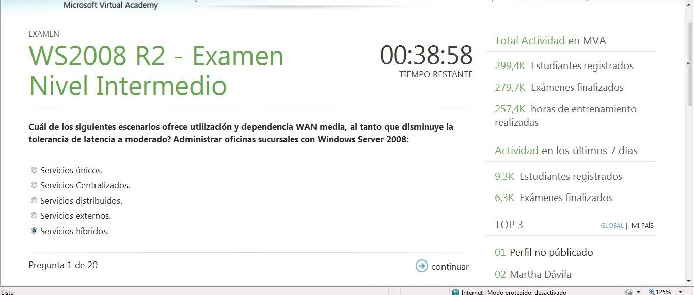 Ayuda Con El Examen Basico De Windows Server 2008 R2
