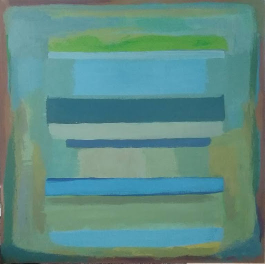 Saatchi Art: Blocks Painting by Dawn Lim
