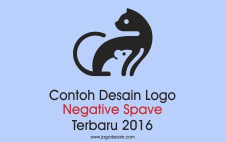 kumpulan  contoh desain logo negative space terbaru