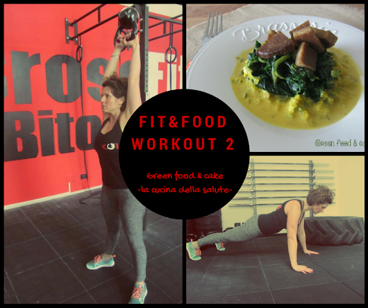 Workout n°2 | Green food & cake