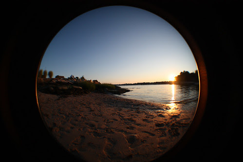 fisheye to the point