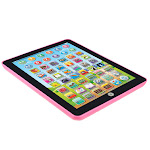 Nomeni Kids Computer Tablet Chinese English Learning Study Machine Toy Pink