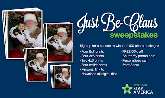 Just Be-Claus Sweepstakes