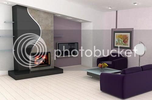 Home Interior Design of Living Room
