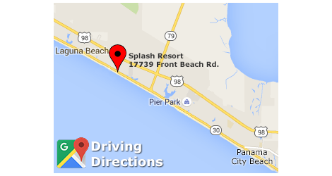 Splash Driving Directions via Google Maps