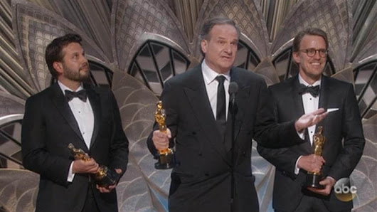 2017 Oscars - Winners of Visual Effects and Animation