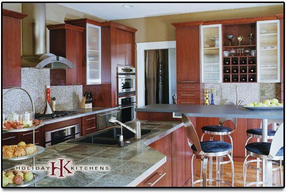 Bathroom Remodeling - Kitchen Cabinets Holiday Kitchens