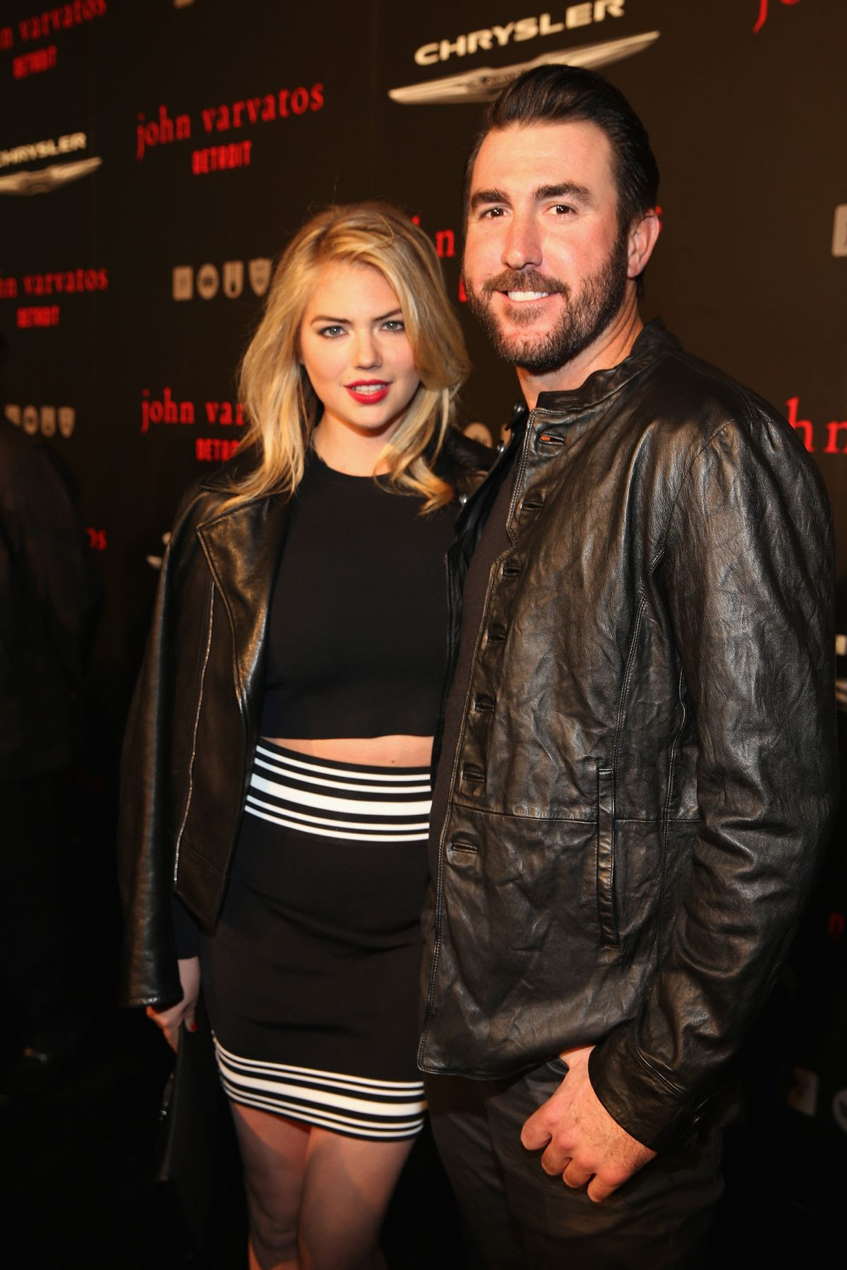 KATE UPTON at John Varvatos Store Opening Party in Detroit