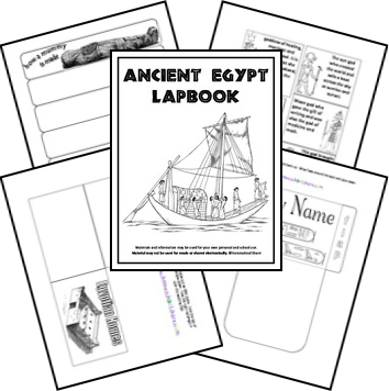 Free for kids: Ancient Egypt Lapbook