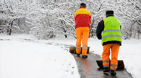 OSHA Offers Safe Snow Cleanup Guidance