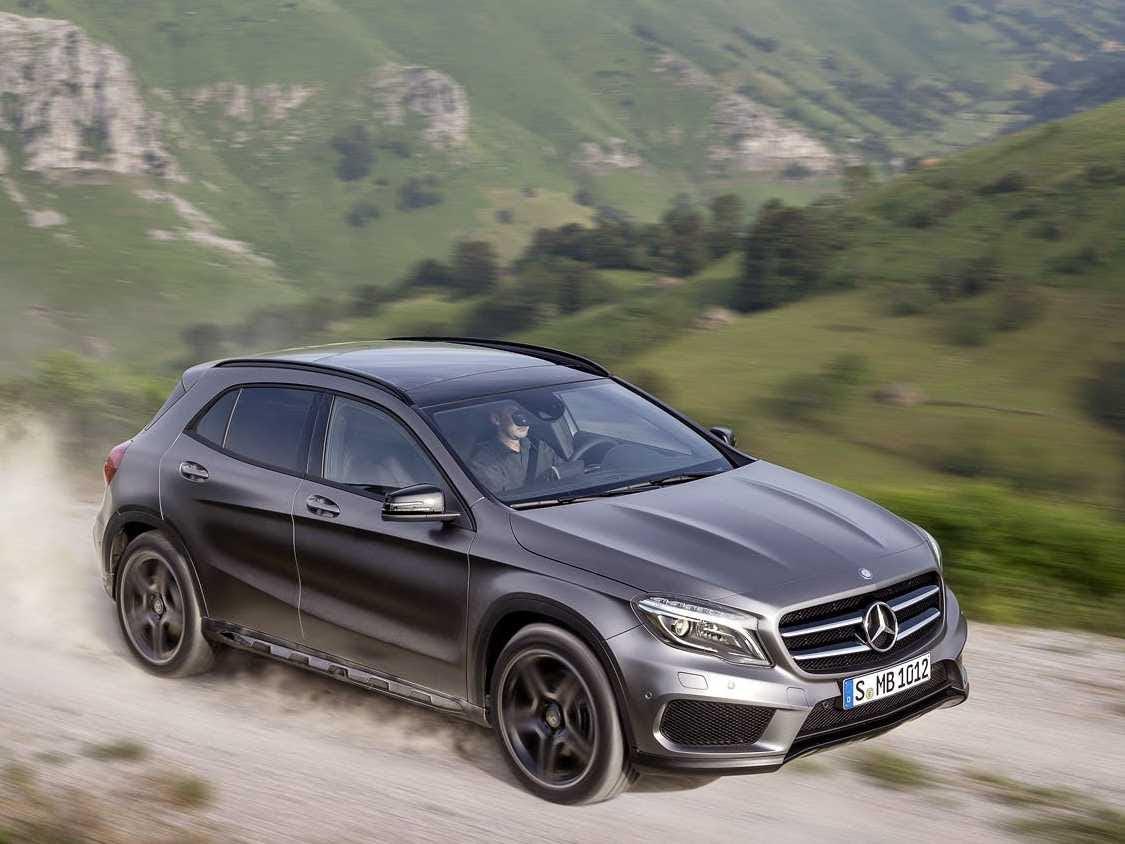 Mercedes-Benz Reveals GLA Compact SUV - Business Insider
