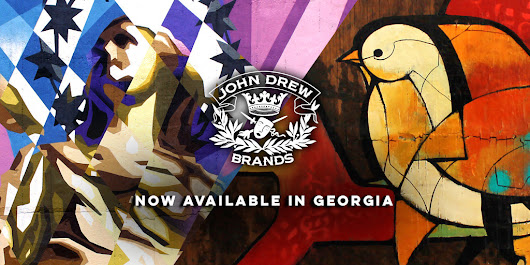 News: John Drew Brands launches Brixton Mash Destroyer, Dove Tale Rum, and John Drew Rye in GA.