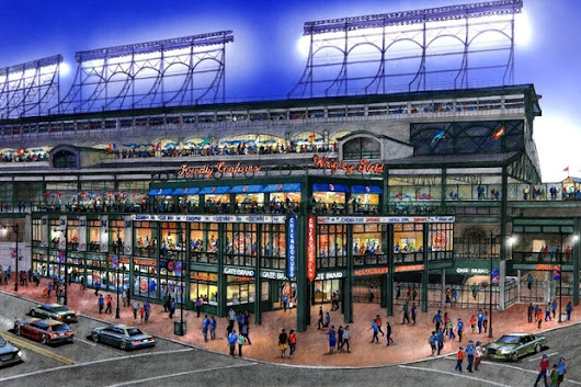 See What The Cubs Are Building This Off-Season For Wrigley Plaza, Clubhouse