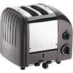 Dualit NewGen 2 Slice Toaster Metallic Charcoal - 20297, Grey Grey