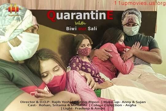 Quarantine With Biwi & Sali (2021) - 11UpMovies Short Film