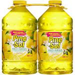 Pine-Sol Multi-Surface Disinfectant, Lemon Scent - 2 count, 100 fl oz each