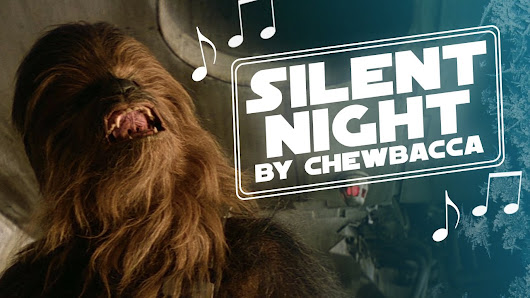 Chewbacca Sings a Touching Rendition of Silent Night in His Native Shyriiwook Language
