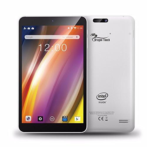 Dragon Touch S8 8インチ タブレットPC インテルクアッドコア Google Android 5.1 IPS液晶 解像度1280x800 1G/16G Bluetooth搭載 FMラジオ機能付き 日本語対応