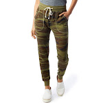 Alternative Classic Printed Eco-Jersey Jogger Pants