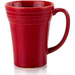 Fiesta 18oz Bistro Latte Mug   Scarlet - 1495326