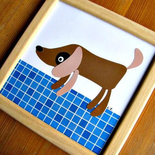 Papercut Dog