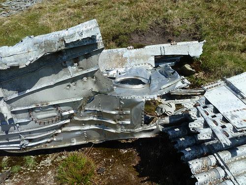 Lockheed P38G Lightning 42-13345-Vandalism
