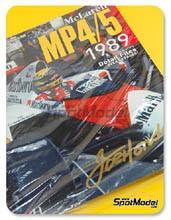 Libro Model Factory Hiro - JOE HONDA Racing Pictorial Series - McLaren MP4/5 1989