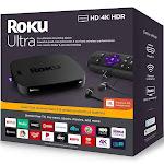 Roku Ultra 4K Streaming Media Player