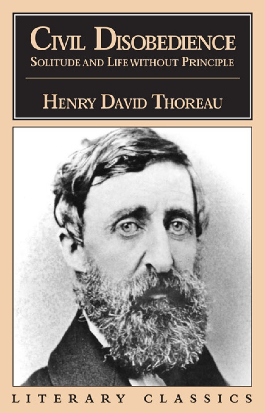 Civil Disobedience Henry David Thoreau Analysis