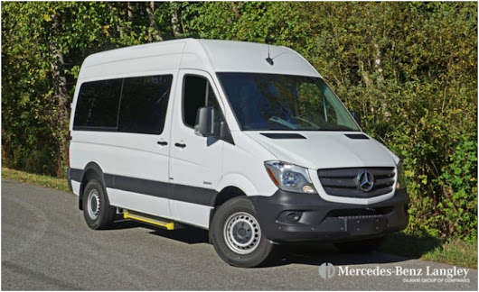 2016 Mercedes-Benz Sprinter 2500 Passenger Van Road Test Review at Mercedes-Benz Langley