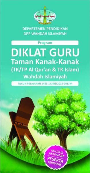 program diklat guru taman kanak kanak islam tktp al qur