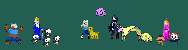 Adventure time  Pokemon edits by KnightArtorius on DeviantArt