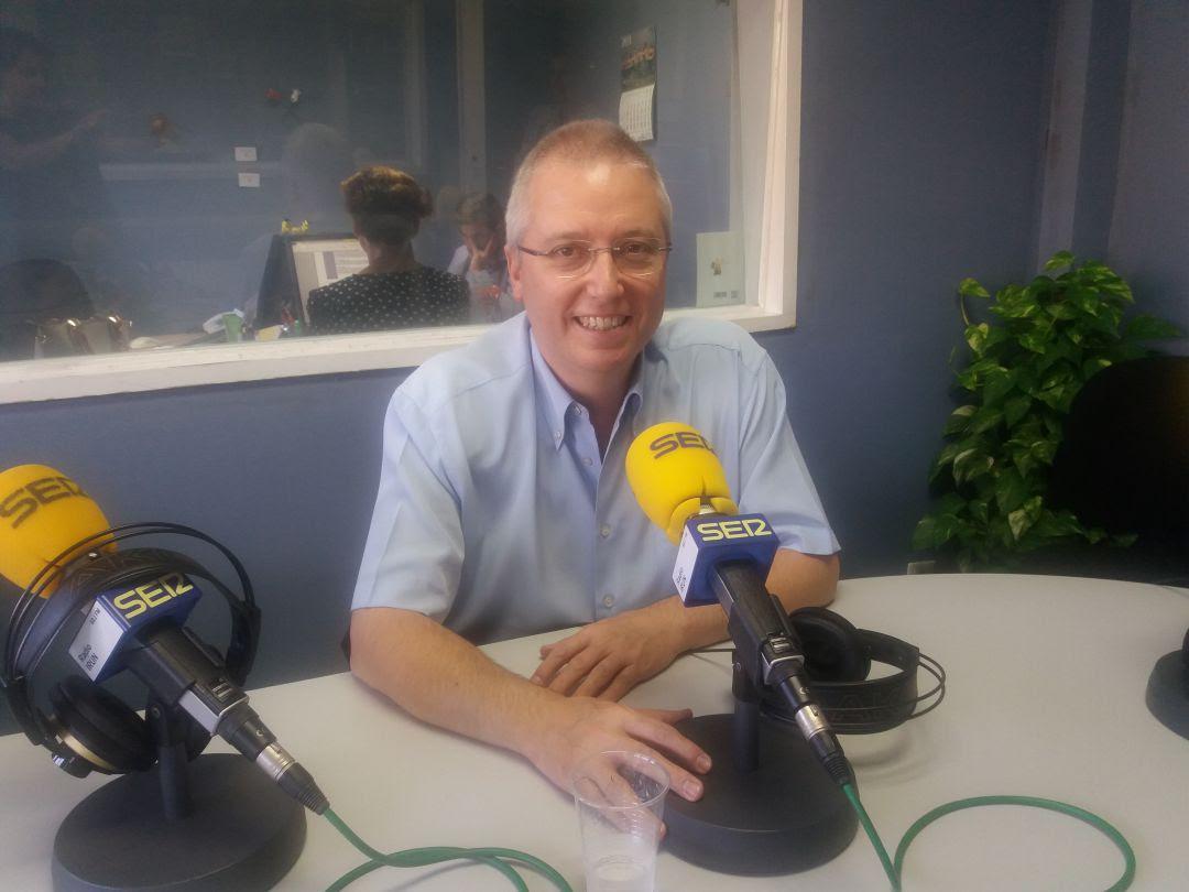 José Ignacio Asensio, Diputado de Medio Ambiente en nuestros estudios.