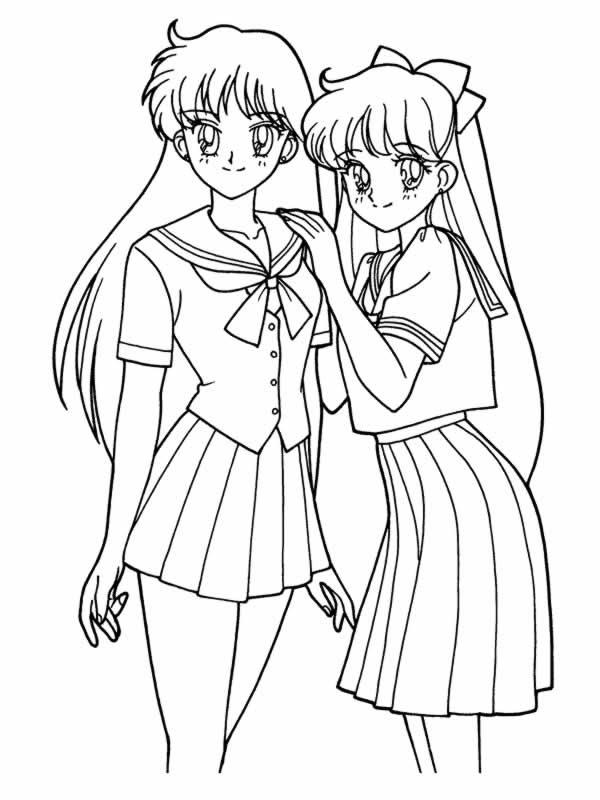 Disegni Sailor Moon Auto Electrical Wiring Diagram