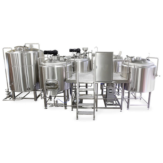 [Hot Item] Electric Steam Direct Fire Heating 2000L Micro Brewing Equipment