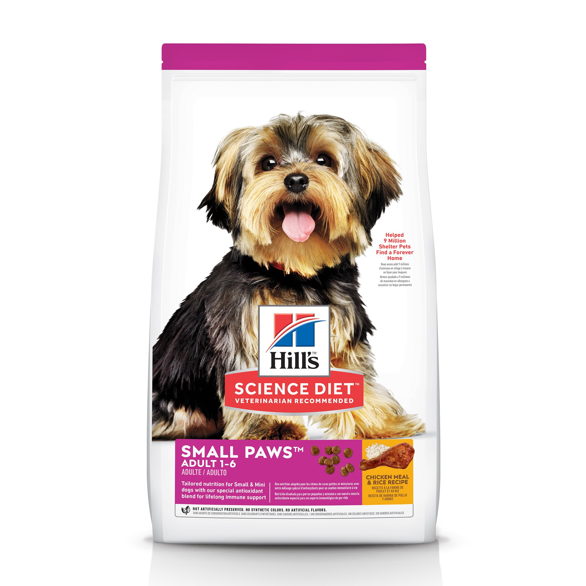 Hill's Science Diet Small & Toy Breed Adult Dog Food ...