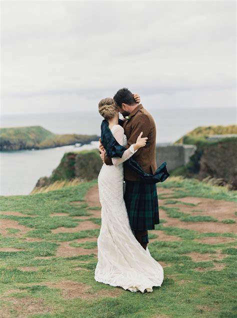 Intimate Clifftop Scotland Wedding   Laura Gordon Fine Art