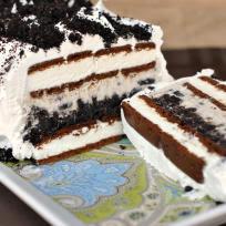 Oreo Ice Cream Cake Recipe - Food Fanatic