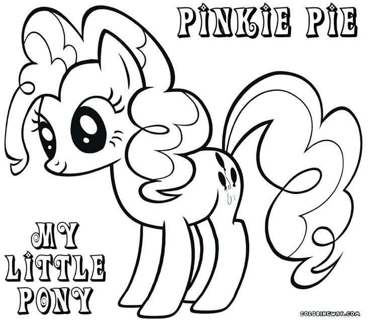 The Best Free Pony Coloring Page Images Download From 50 Free