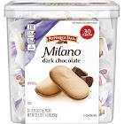 Pepperidge Farms Milano Dark Chocolate Cookies, 30 x 0.75 oz