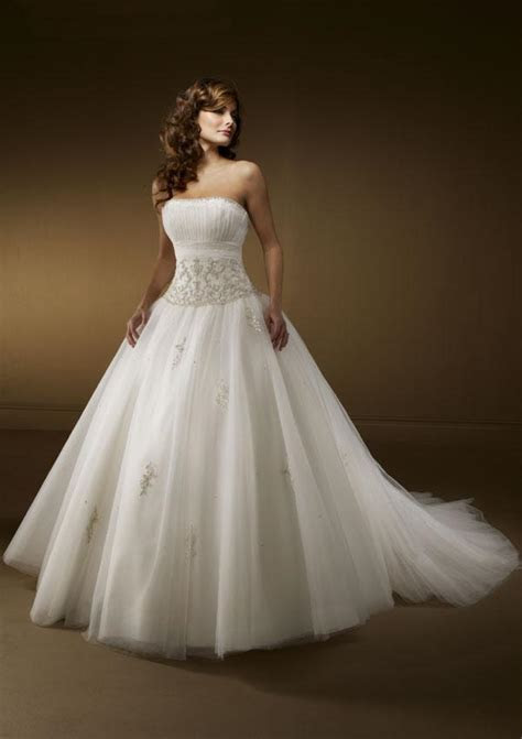 Gorgeous Organza Wedding Dress   Wedding dresses, simple