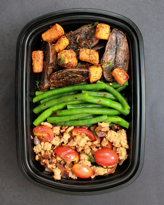 Meal Prep – Roasted Potatoes, Ground Turkey & String Beans