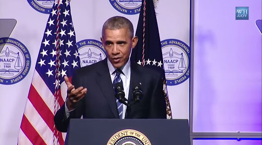 President Obama Calls for Prison Reform in Speech to NAACP