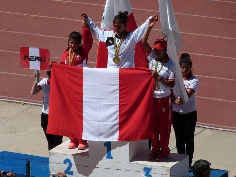 A - atletismo damas - medalla de plata