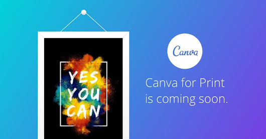 Introducing Canva Print