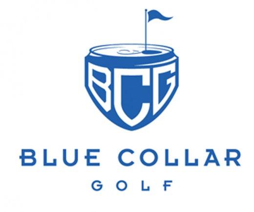 Blue Collar Golf Logo is a good golf logo design