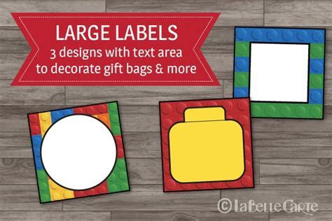 Lego Party Decor Printable Pack